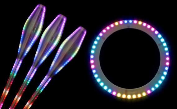 最高の価格でイグニスピクセルオンラインストアでジャグリングやサーカスのためのLED小道具を購入してください。高品質 LED ジャグリングの小道具世界中で販売します。運動、ダンス、フィットネス、ショー、その他のパフォーマンスのための機器をジャグリング。