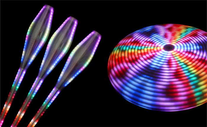 Реквизит для жонглирования и цирков